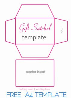 Gift Card Envelope Templates Lovely Diy T Satchel Bags From Magazines