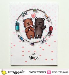 Heffy Doodle BLOG HOP! – Heffy Doodle Photopolymer Stamps and Metal Craft Dies Doodle Inspiration, Shaker Cards, Card Tutorials, Metal Crafts, Have Some Fun, Homemade Cards, Cardmaking, Card Ideas, Cool Designs