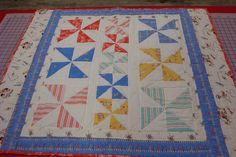 Pinwheel Play with Sarah Jane Children at Play Quilt