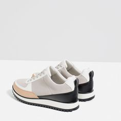 Image 5 of CONTRAST SNEAKERS from Zara