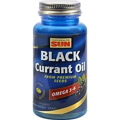 Health From The Sun Black Currant Oil Naturally Supplies Nutritionally Important Gamma-linolenic Acid (gla) Plus Alpha-linolenic Acid And Stearidonic Acid. This Combination Of Fatty Acids Is What Makes Black Currant Oil So Unique From Othe Black Currant Oil, Borage Oil, Evening Primrose, Primrose Oil, Black Currants, Black Seed, Essential Fatty Acids, Seed Oil