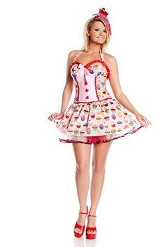 Cupcake Girl Plus Costume | Wholesale Pop Stars Halloween Costumes for Sexy