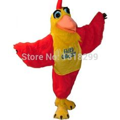 mascot Rooster Mascot Costume Adult Size Fried Chicken Mascotte Costume Outfit Suit Fancy Dress for stage Performance Mascot Costumes, Adult Costumes, Chicken Costumes, Bloodhound Dogs, Tiger Costume, Eagle Mascot, Goofy Dog, Bulldog Mascot, Pink Rabbit