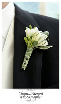 Groom's Flower