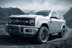 Get the latest news, price, and photos on the new 2019 Ford Ranger and 2020 Ford Bronco. Ford promises a new small pickup truck and a return of the legendary Bronco name.: Everything We Know About the New Bronco and Ranger Ford Bronco 4 Door, 2019 Ford Bronco, New Bronco, 2019 Ford Ranger, Ford Expedition, Aston Martin, Subaru, Ford Bronco Concept, Pickup Trucks