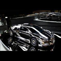 Slick Chrome Bugatti