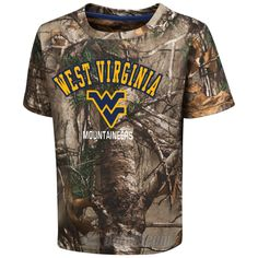 WVU Blacktail RealTree Camo Tee - Toddler