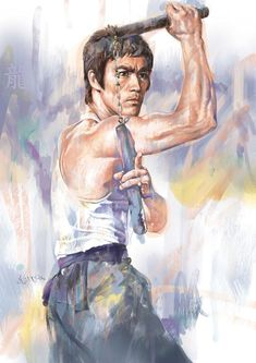 Bruce Lee Online Gallery / The Art of Martial Arts Arte Bruce Lee, Bruce Lee Poster, Bruce Lee Photos, Martial Arts Movies, Martial Artists, Brice Lee, Artiste Martial, Bruce Lee Martial Arts, Little Dragon