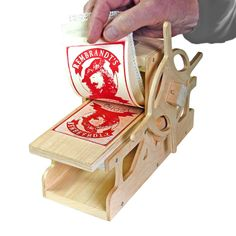 DIY Rembrandt Press Printing Press by Bill Ritchie