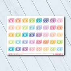 Dollar Bill Planner Stickers - Icon - Erin Condren Life Planner - Happy Planner - Savings - Finance - Money - Matte or Glossy