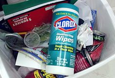 """Homemade """"Clorox"""" Wipes   One Good Thing by Jillee"""
