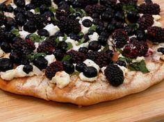Delicious Berry Pizza
