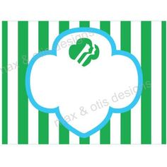 Girl Scout Daisy printable tags for investiture or bridging ceremony.  Downloadable PDF with editable fields. #girlscouts