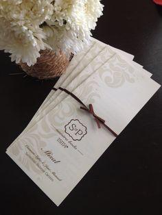 Misales para boda #Felicità