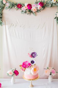 floral princess party