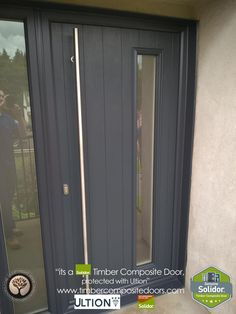 Timber Composite Doors 12 Months Interest Free Credit by Timber Composite Doors Real Pictures, Real Homes, Real Doors, Real Solidor a small selection of fitted Solidor Timber Composite Doors installed and fitted by ourselves throughout the UK. design yours online at our site below #solidor #compositedoors #compositedoors #frontdoors With #ultion #ultionlocks as standard