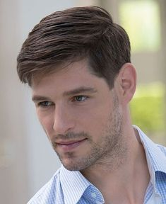 Cool Hairstyles For Men, Boy Hairstyles, Haircuts For Men, Classic Mens Hairstyles, Mens Straight Hairstyles, Haircut For Thick Hair, Fade Haircut, Men Haircut Short, Hair And Beard Styles