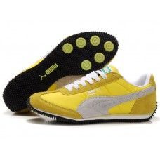 Puma Men Usain Bolt Running Shoes Yellow/White