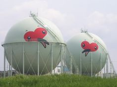 Natural gas enclosures.