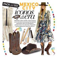 """Pack and Go: Mexico City"" by natasa-topalovic ❤ liked on Polyvore featuring Corral, Peter Grimm, Bling Jewelry, Dolce&Gabbana and Packandgo"