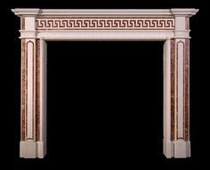 Neoclassical Eton Square fire surround