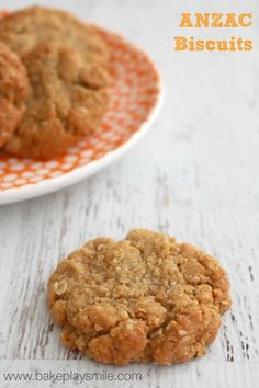 Classic ANZAC Biscuits (and a little celebration!) - Bake Play Smile