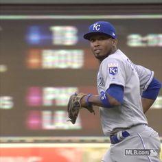 "10.3k Likes, 87 Comments - Kansas City Royals (@kcroyals) on Instagram: ""Okay, Esky  #RaisedRoyal @alcidesescobar2"""