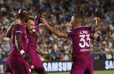 OLE777 Sports – Bertanding di Los Angeles Memorial Coliseum, Los Angeles, Amerika Serikat, pasukan Manchester City membatai Madrid dengan skor 4-1, Kamis 27 Juli 2017 WIB.