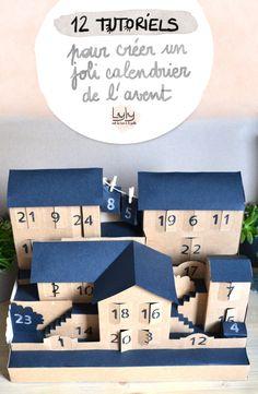 DIY 12 tutoriels gratuits pour confectionner soi-même un calendrier de l'avent beau et original Diy For Kids, Crafts For Kids, Ramadan Crafts, Advent Calenders, Countdown Calendar, Holiday Gift Guide, Diy Tutorial, Diy Gifts, Christmas Diy