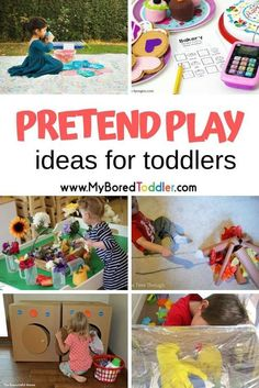 toddler halloween costumes pretend play ideas for toddlers and preschoolers - easy ways to DIY pretend play and dramatic play for toddlers Quiet Toddler Activities, Toddler Play, Toddler Books, Baby Play, Infant Activities, Toddler Preschool, Educational Activities, Preschool Activities, Activities With Toddlers