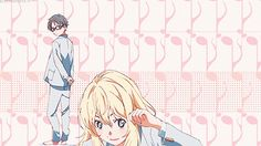 Shigatsu Wa kimi No Uso ~ Your Lie in April - Kaori, Kousei, Watari, Tsubaki
