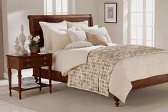 Loving this Ethan Allen rosette quilt made with yo-yos in various neutrals...starting at $749! Holy canoli!
