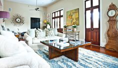 eclectic living room by cortney Bishop Design