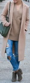 Not sure what to wear this season? Here are 32 fabulous fall outfits you'll want to steal! Chic Winter Outfits, Fall Outfits, Nude Boots, Pinterest Fashion, Camel Coat, Weekend Outfit, Autumn Winter Fashion, Winter Style, Fashion Forward