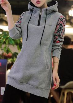 trendy Outerwear Coats with competitive price Hijab Fashion, Teen Fashion, Winter Fashion, Fashion Dresses, Sporty Outfits, Warm Outfits, Pretty Outfits, Grey Coats For Women, Mode Hijab