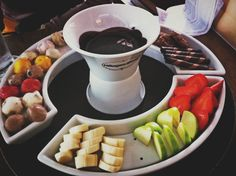 Haagen Dazs Chocolate Fondue