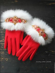 Vintage Gloves, Card Box Wedding, Mitten Gloves, Hats For Women, Lana, Headbands, Vintage Outfits, Fashion Accessories, Embroidery