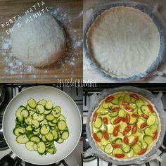 Pasta matta - base per torte salate - la ricetta sul mio blog.