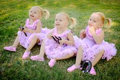 Our Identical Triplet Girls Journey Cute Twins, Cute Babies, Baby Kids, Triplet Babies, Multiple Births, Conjoined Twins, Three Daughters, Three Sisters, Cool Baby Names