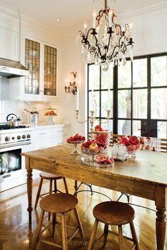 Shabby Chic Kitchen #inspiration #interiors