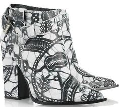 Thakoon Printed Leather Ankle Boots, £685.00