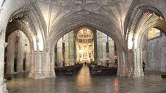 Jerónimos church inside