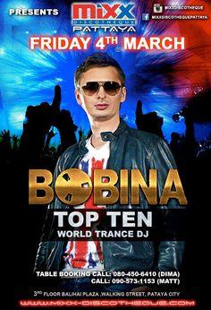 Bobina at Mixx #Pattaya