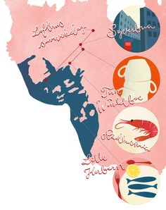 The Oslo Tour III (Illustration for 360 Magazine) | Marte Velde Koslung #Map