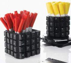Reciclagem Teclado de Computador - VilaClub