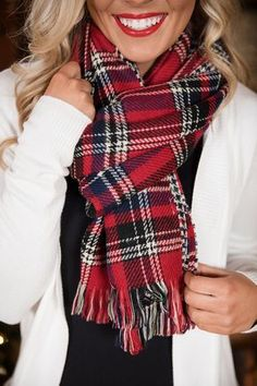 91 Best plaid scarf images  96228f34b79