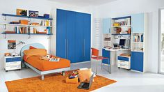 Children's Bedrooms With Bright Cheerful Colours | iDesignArch | Interior Design, Architecture & Interior Decorating eMagazine