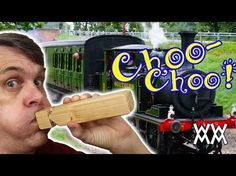 Make a wooden train whistle | 2012 New Years noisemaker - YouTube