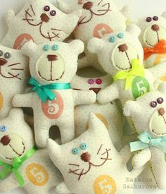 текстильные куклы интерьерные игрушки Сахаровой Натальи: Игрушки-мотиваторы