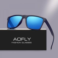 eb6438fed9 Buy AOFLY Brand Classic Black Polarized Sunglasses Men Driving Sun Glasses  for men Shades Fashion Male Oculos Gafas Eyewear